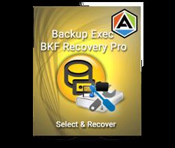 Backup Exec BKF Recovery Repair