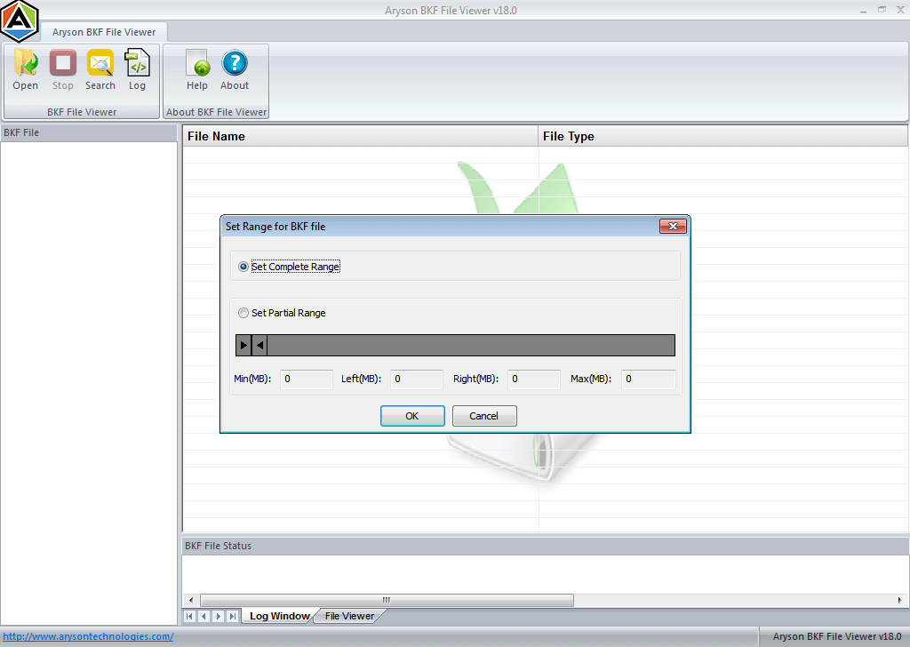 bkf file extension