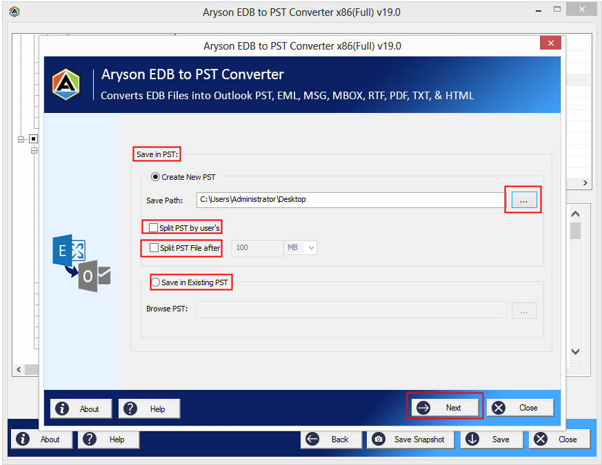 EDB to PST Converter Tool to Convert Exchange EDB to PST File