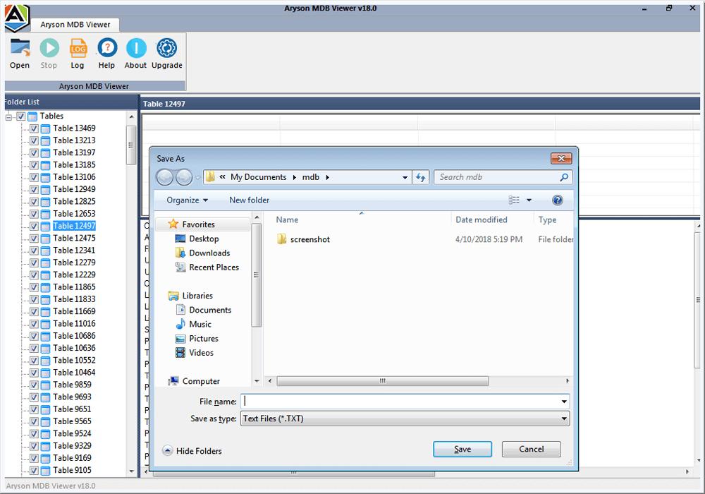 Mdb Viewer Freeware To Open Access Database Mdb Or Accdb Files