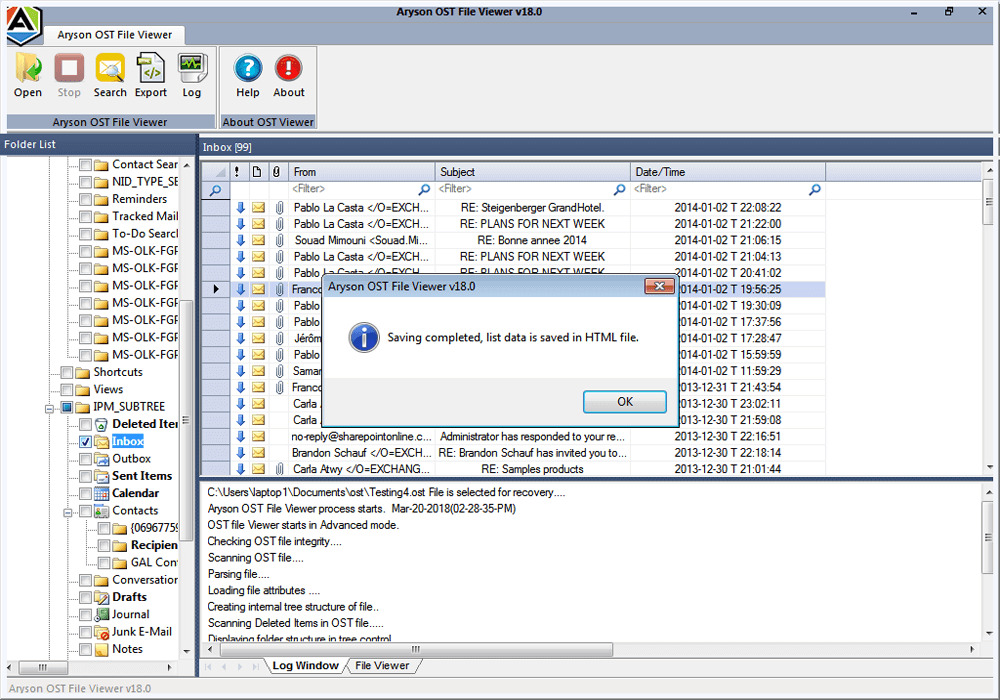 Ost Viewer Tool To Open Ost File Without Outlook