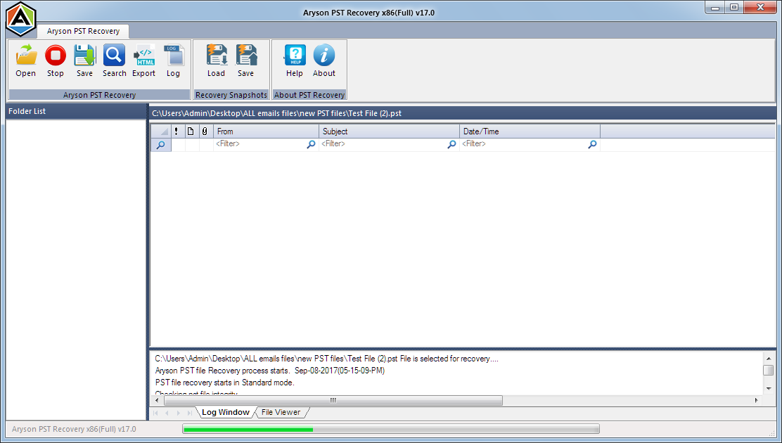 Freeware Software to Repair Outlook PST.