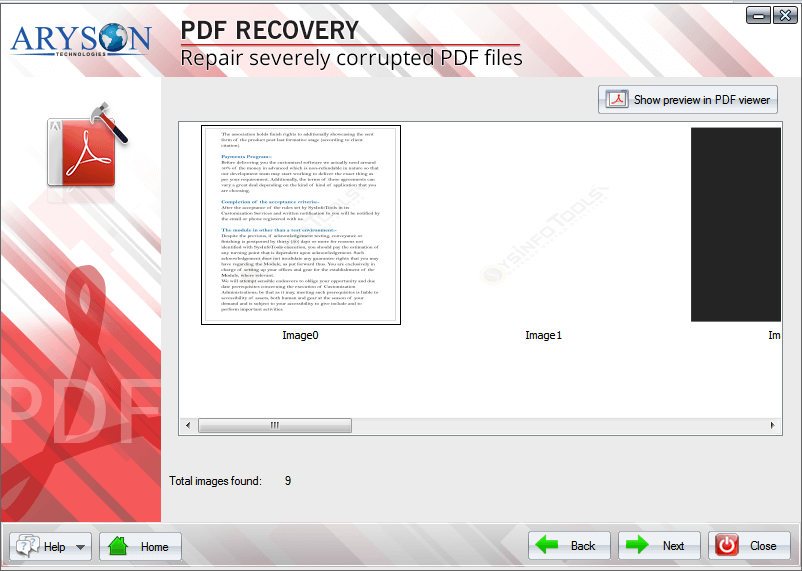 corrupted pdf file recovery free software