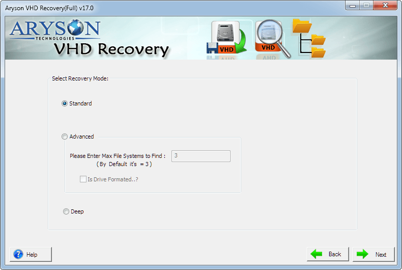 VHD Recovery to Repair Corrupt VHD File & Extract Data