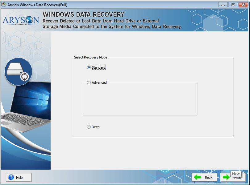 Windows Data Recovery Software to Recover/Restore Deleted