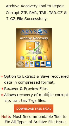 How to Extract or Recover Data From Corrupted ZIP File | RAR Files