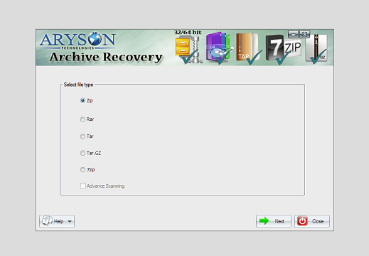 Advance Archive Recovery Software Online