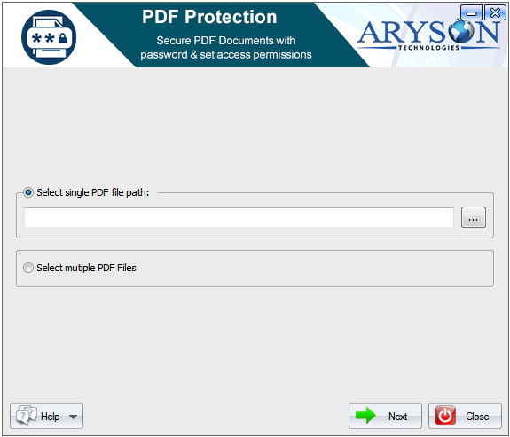 Free download Aryson PDF Protection
