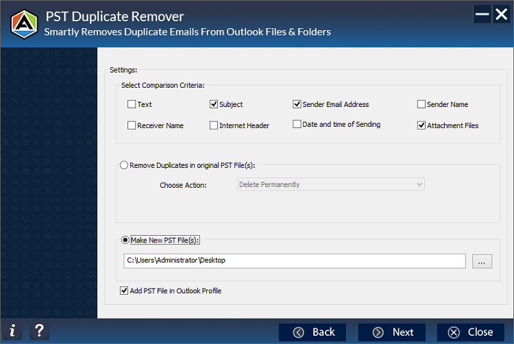 Aryson Outlook Duplicates Remover
