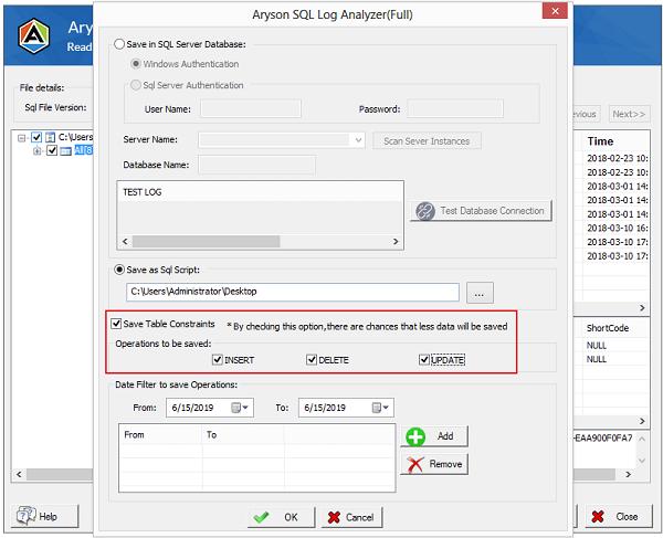 sql log analyzer, aryson sql log analyzer, sql server log analyzer, sql transaction log analyzer, open sql log file