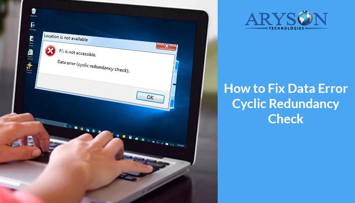 How to Fix Data Error Cyclic Redundancy Check Veritas Backup Exec